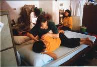 BKK Wat Pho Thai massage School - interno