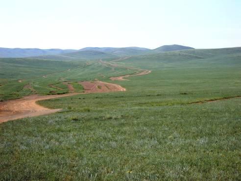 Mongolia piste