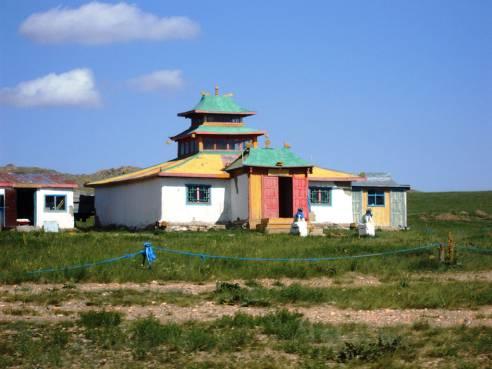 Mongolia Eremo sacro