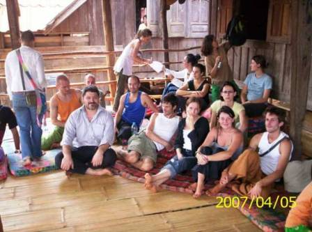 2007 thai massage Lahu village