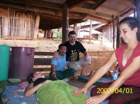 thai massage Lahu village