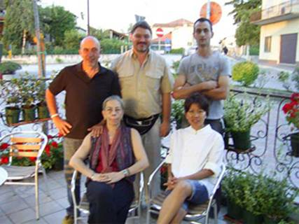 il C.D. di A.T.T.Y.M.I. con Noemi e Luca