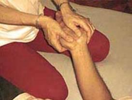 massaggio mani