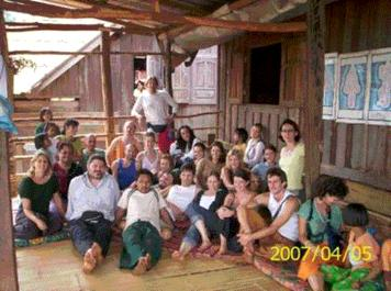 2007 Lahu village Thai massage course