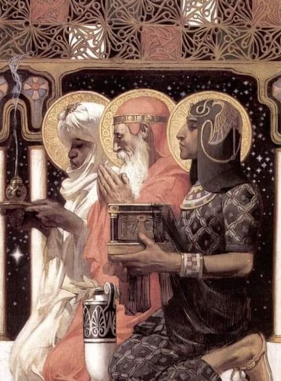 J.C. Leyendecker I Re Magi (1900)